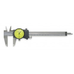 Mitutoyo - 505671 - Dial Calipers - METRIC - 2mm PER REVOLUTION