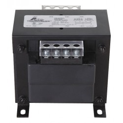 Acme Electric - AE020250 - Control Transformer, 250VA VA Rating, 240/480VAC Input Voltage, 25/120VAC Output Voltage