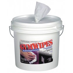 2XL - 2XL-37 - Germicidal Gym Equipment Wipes, 8 x 7, 700 Wipes per Container, 1 EA