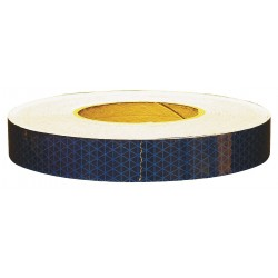 Orafol - 18762 - Reflective Tape, W 1 In, L 50 Yd, Blue