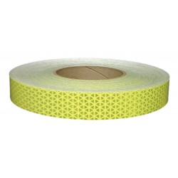 Orafol - 22040 - Reflective Tape, W 1 In, Fluorescent Lime