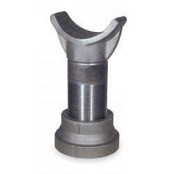 Anvil Fittings - 0500362025 - 8-1/2-13-1/2 Vertical Adjust. Range Cast Iron Pipe Saddle Support with 1800 lb. Max. Load