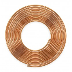 Mueller Industries - 605 - 60 ft. Soft Coil Copper Tubing, 7/8 Outside Dia., 0.745 Inside Dia.