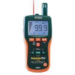 Extech Instruments - MO297 - Extech MO295 Inspectorpro Pin/Pinless Moisture Psychrometer, Meterlink