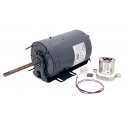 A.O. Smith - FB1156TE - 1-1/2 HP Condenser Fan Motor, Permanent Split Capacitor, 1075 Nameplate RPM, 208-230/460 Voltage, Frame
