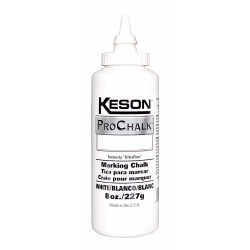Keson - 8W - Marking Chalk Refill, White, 8 Oz