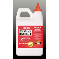 Keson - PM103RED - Marking Chalk Concentrate, Red, 3 Lb