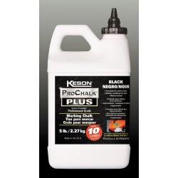 Keson - PM103BLACK - Marking Chalk Concentrate, Blk, 3 Lb