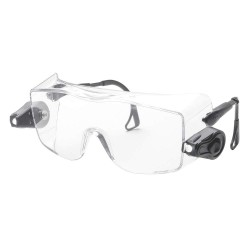 3M - 11489-00000-10 - Light Vision OTG Anti-Fog Safety Glasses, Clear Lens Color