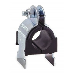 ZSI - 010NS014 - Strut Mounted Cushioned Clamp, Stainless Steel Type 304