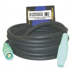CEP - 61225SCG - 200 Amp Cam Lock Extension Cord, 600VAC, 2/0 Wire Size