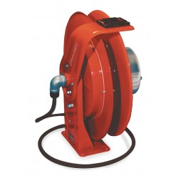 Reelcraft - WC7000 - Reelcraft WC Series 400 Amp 2 AWG 50' Spring Driven Cable Welding Hose Reel 58.00#, ( Each )