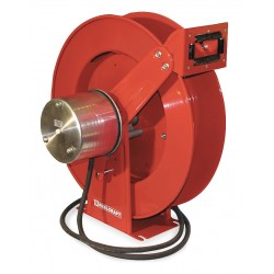 Reelcraft - WC80001 - Reelcraft WC Series 400 Amp 2 AWG 75' Spring Driven Cable Welding Hose Reel 102.00#, ( Each )