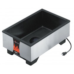 The Vollrath Company - 71001 - Up to 4 Deep Pans Stainless Steel/Thermoset Resin Well Warmer