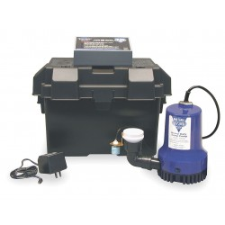 Glentronics - PHCC-1730 - 10.00 Amps Battery Backup Sump Pump with 11.0 Amps/GPH of Water @ 5 Ft. of Head