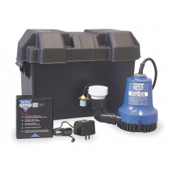 Glentronics - PHCC-1000 - 6.50 Amps Battery Backup Sump Pump with 7.3 Amps/GPH of Water @ 5 Ft. of Head