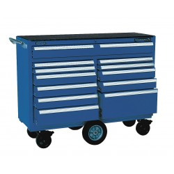 Kennedy - 5300MPBL - 00885 Smooth Blue 12 Drawer Maint. Pro Cart