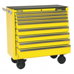 Kennedy - 3900MPYW - 00880 Smooth Yellow 8 Drawer Maint.pro Cart