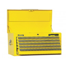 "Kennedy - 3400MPYW - Yellow Top Chest, 34"" Width x 20"" Depth x 18-3/8"" Height, Number of Drawers: 5"