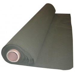 Steiner Industries - 301-60-25GR - Cotton Duck Welding Curtain Roll, 75 ft. High x 0.025 Wide x 5 ft. Thick, Olive