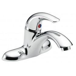 Delta Faucet - 22C131 - Brass Bathroom Faucet, Lever Handle Type, No. of Handles: 1