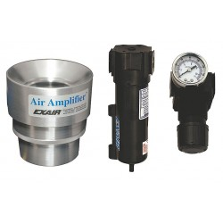 Exair - 6231 - Adjustable Stainless Steel Air Amplifier Kit, Inlet Dia.:1.25