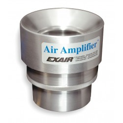 Exair - 6042 - Adjustable Aluminum Air Amplifier, Inlet Dia.:2.00