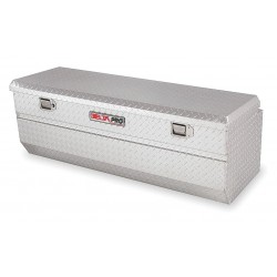 Jobox - PAH1424000 - Aluminum Truck Box Chest, Silver, Single, 17.0 cu. ft.