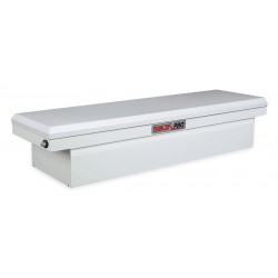Jobox - PSC1458000 - Steel Crossover Truck Box, White, Single, 6.1 cu. ft.