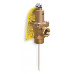 Watts Water Technologies - 1'140X-6 - Temperature and Pressure Relief Valve, 670, 000 BtuH, 150 psi, 6 Thermostat Length