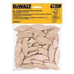 Dewalt - DW6810 - Joining Biscuits, No. 10, PK75