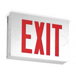 Acuity Brands Lighting - LX S W 3 R 120/277 - Exit Sign Led 0.72w, Ea