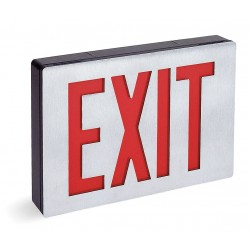 Acuity Brands Lighting - LE S 1 R 120/277 - Exit Sign Led 0.81w, Ea