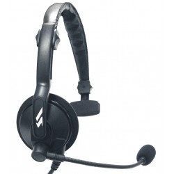 Vertex Standard - VH-215S - Over the Head On Ear, One Ear, Black, Noise Canceling No