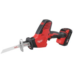 Milwaukee Electric Tool - 2625-21CT - Cordless Reciprocating Saw Kit, 18.0 Voltage, Keyless Shoe Design, Battery Included