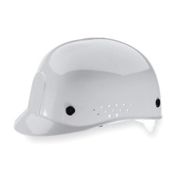 MSA - 10033652 - White Polyethylene Vented Bump Cap, Style: Perforated Sides, Fits Hat Size: 6 1/2 to 8