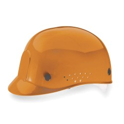 MSA - 10033654 - Orange Polyethylene Vented Bump Cap, Style: Perforated Sides, Fits Hat Size: 6-1/2 to 8