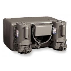 Bell & Gossett - WCD12-20 B-MA - 1/3 HP Duplex Watchman Condensate Return System, 18 GPM, Cast-Iron
