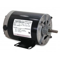 A.O. Smith - 889A - 1/3 HP Belt Drive Motor, Split-Phase, 1725 Nameplate RPM, 115 Voltage, Frame 48