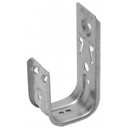Cooper Tools / B-Line - BCH32 - Cooper B-Line Cable Hook, 2, 70 4-Pair UTP - J-hook - 50 Pack - 30 lb Loop Tensile - 2 Internal Diameter - Steel