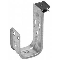 Cooper Tools / B-Line - BCH32E58 - Silver J-Hook, Beam Mounting Location, 30 lb. Max. Load Capacity