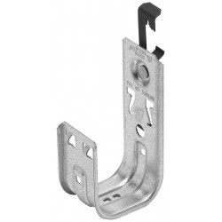 Cooper Tools / B-Line - BCH32-W6 - Silver J-Hook, Threaded Rod Mounting Location, 30 lb. Max. Load Capacity