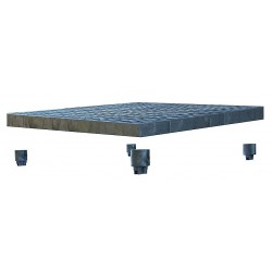 Add-a-Level - A3636A - Work Platform Add On Unit, Plastic, Stackable Platform Style, 2-5/8 Platform Height