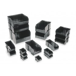 Quantum Storage Systems - QUS260CO - Conductive Part Bins, OD 18 L x 11 W x 10 H, 4/Carton