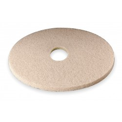 3M - 3400 - 27 Tan Burnishing Pad, Non-Woven Polyester Fiber, Package Quantity 5