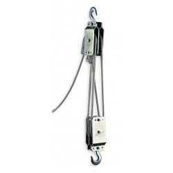 Tuf-Tug - TTRH-700 - Rope Block and Tackle, Lifting Capacity 350 lb., Pull Capacity 700 lb., Reach Capability 12 ft.
