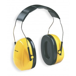3M - H9A - Earmuff Optime 98 Over The Head 25 Noise Reduction Rating Acrylonitrile Butadiene Styrene Ansi S3.19-1974 Aearo Company, Ea