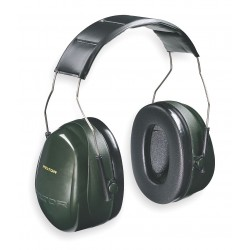 3M - H7A - Earmuff Optime 101 Dual Cup 27 Noise Reduction Rating Acrylonitrile Butadiene Styrene Ansi S3.19-1974 Aearo Company, Ea