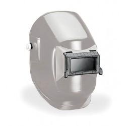 Sellstrom - 29311-10 - 290 Series, Passive Welding Helmet, 10 Lens Shade, 4.25 x 2.00 Viewing AreaSilver