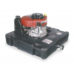 W.S. Darley - HEF10.5BS - 10.5 HP Polyethylene with Cell Polyurethane Foam 465cc Floating Fire Pump, Manual Start